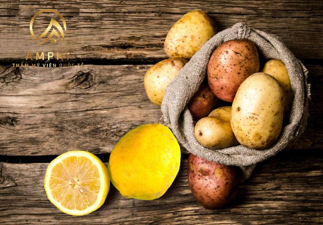 4 mẹo trị nám bằng khoai tây hiệu quả không phải ai cũng biết